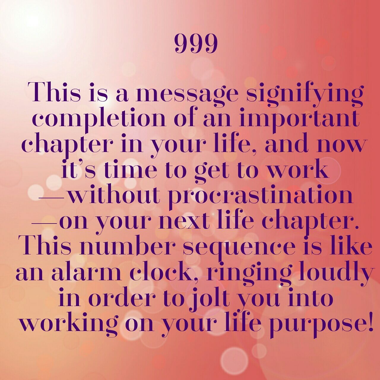 999 Meaning  ~Angel Numbers 101, Doreen Virtue~ | Numerology