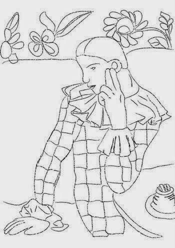 Pintores famosos: Pablo Picasso para niños. Cuadros para colorear ...