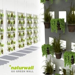 High Quality Naturwall Is A Vertical Green Wall That Reuses Disposable Coffee And Tea  Cups As Plant Pots