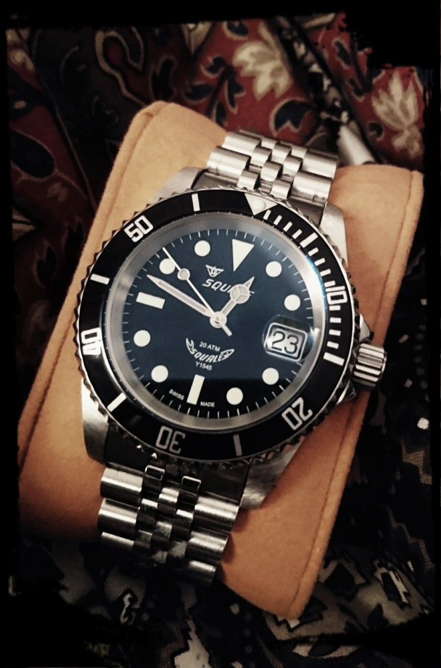 squale 1545 20 atmos watch pinterest