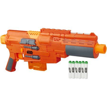 Star Wars Rogue One Nerf Sergeant Jyn Erso Deluxe Blaster, Multicolor