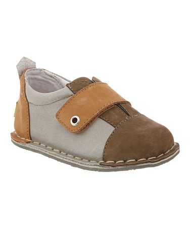 Look at this #zulilyfind! Brown & Stone Jack Leather Loafer by Pipit #zulilyfinds