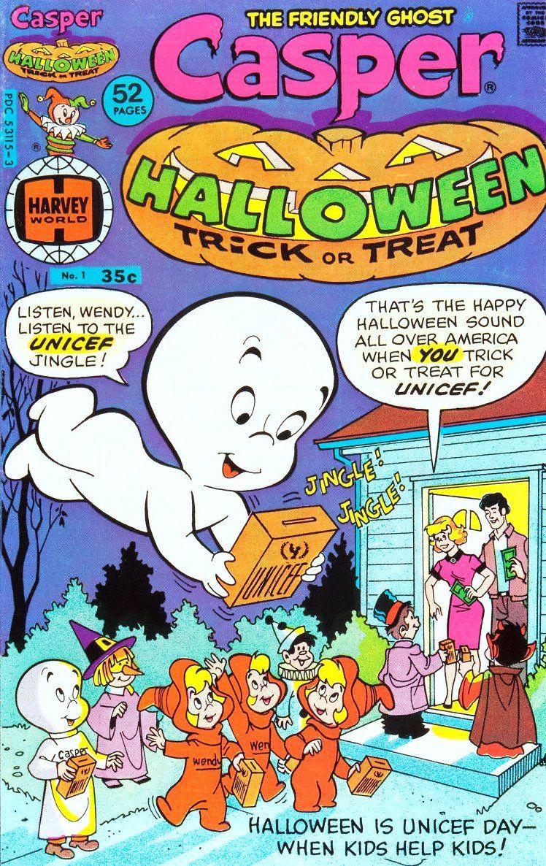 "Harvey Comics ""Casper the Friendly Ghost"" Casper the"