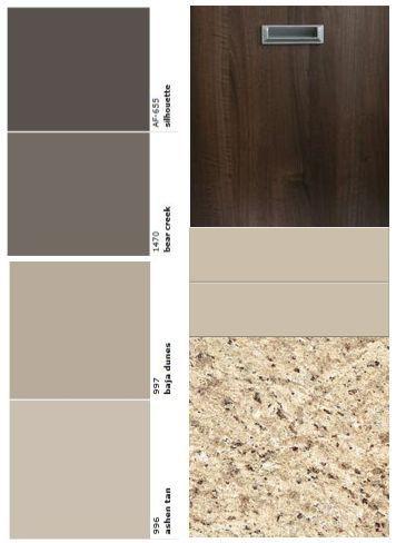 Espresso Kitchen Cabinets Color Schemes Dark Wood Granite Countertops