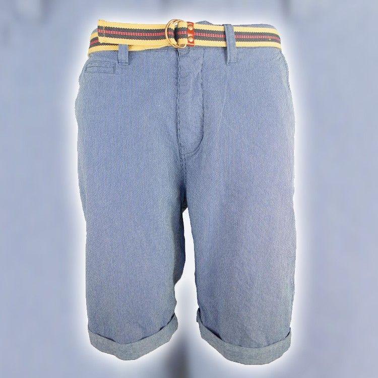 Chino-Shorts mit Gürtel - von lesara.de.
