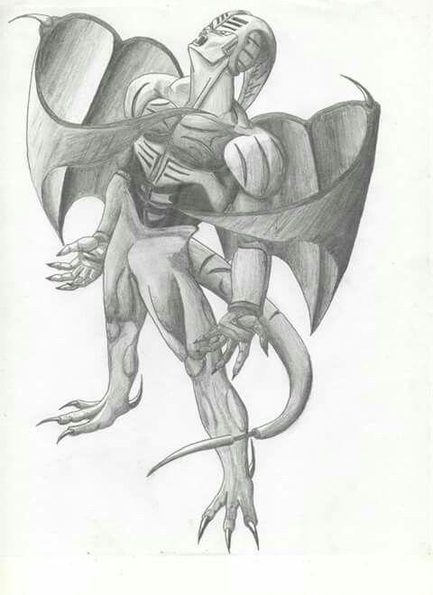 Dibujos Lapiz De Monstruos Wwwimagenesmycom