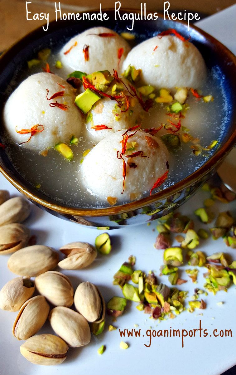 Easy home made rasgulla recipes dessert made with milk curd food easy home made forumfinder Gallery