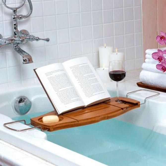 You Can Read Even In The Bathtub Bathtub Caddy Bath Accessories Shower Curtains And Accessories