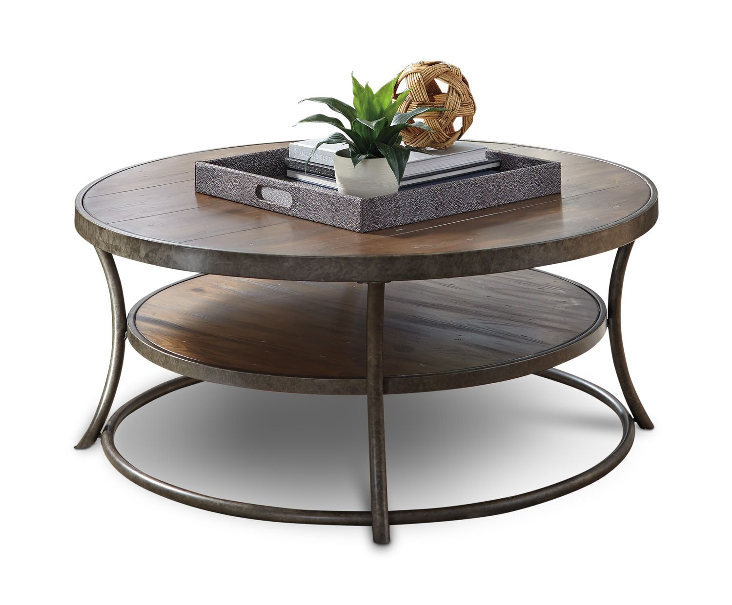 Nartina Round Coffee Table   Circle coffee tables, Round ...