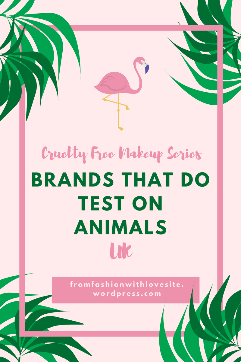 List Of Brands That Do Test On Animals Playlist Mckenna Bleu Brand