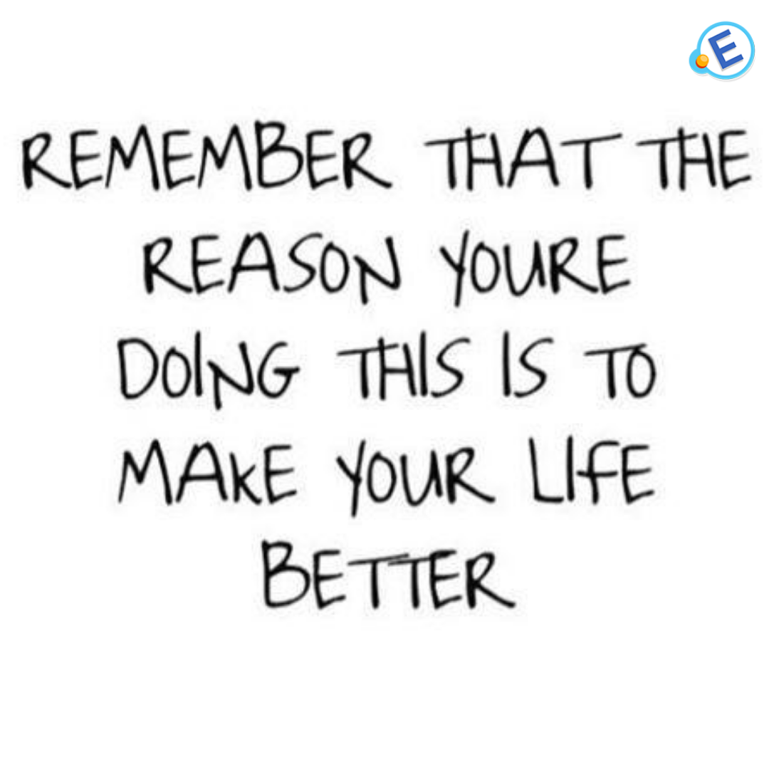 Remember that the reason you're doing this is to make your