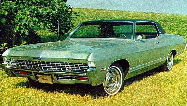 1968 Chevrolet Caprice Sport Coupe Vintage Auto Chevrolet