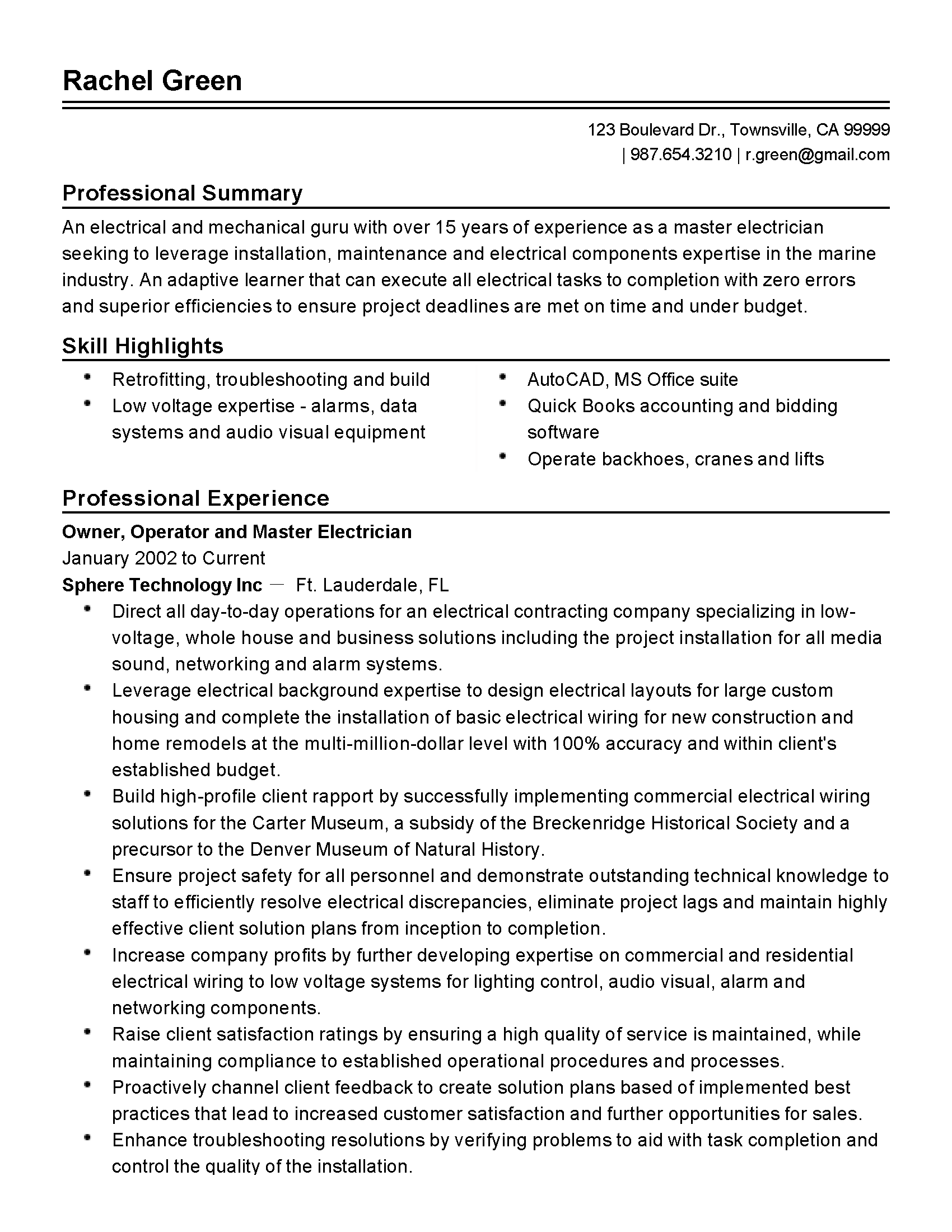 resume examples 2019 in 2020 (With images) Resume