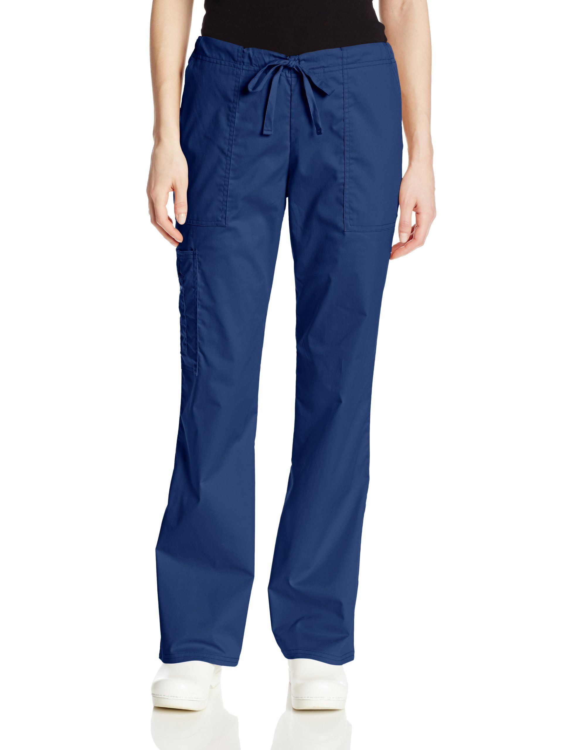 687bc6c4c09 Amazon.com: Cherokee Women's Workwear Scrubs Mid-Rise Core Stretch  Drawstring Cargo Pant: Clothing