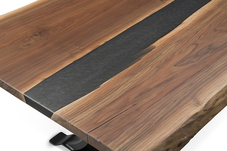 Available In Character American Black Walnut Featuring A Live Edge