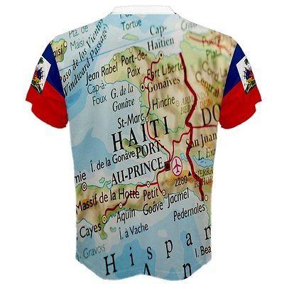 Men Funny T Shirt Women Cool Tshirt Haitian Shirt 1804 Haiti Flag Map Coat Of Arm Tops & Tees Men's Clothing