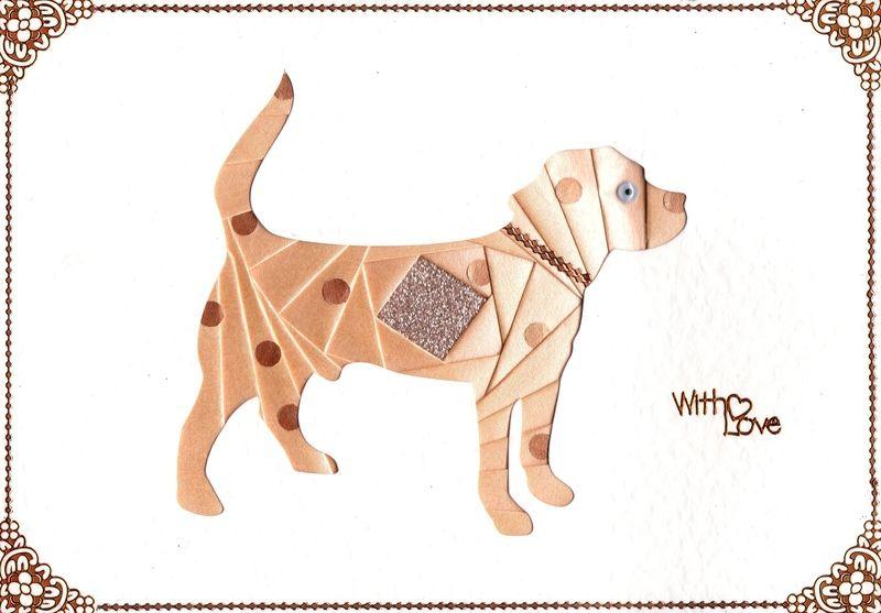 Iris+Folding+Patterns+Free+Printables   C5 Dog Large - DeeCraft