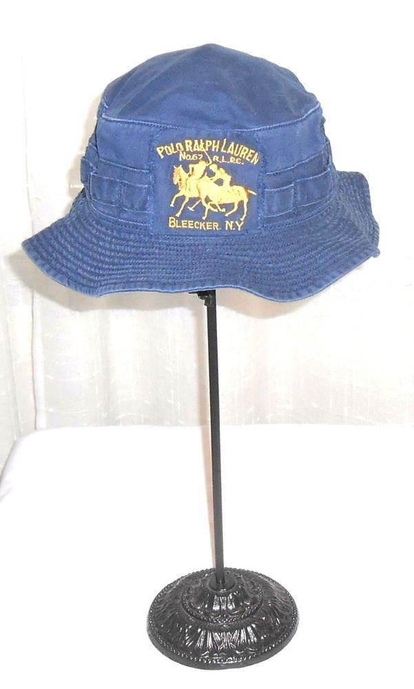 No Bleecker Polo Ny3 Bucket R Blue 67 P L C Ralph Vintage Lauren Pk0O8wn