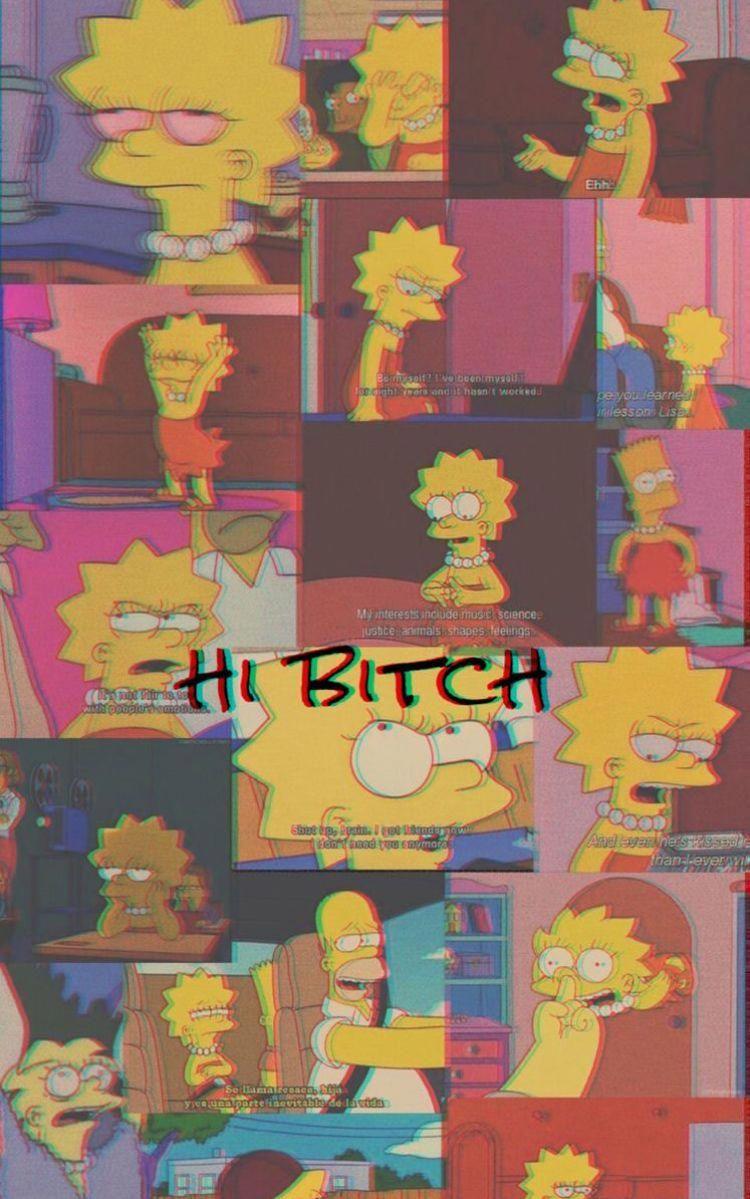 Tumblr Wallpaper Iphonecamera Simpson Wallpaper Iphone Funny