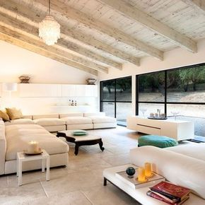 Photographer jim bartsch view of chantal cloutier   former car garage now turned into  living room with views also best koltuk takimlari images on pinterest home decor rh