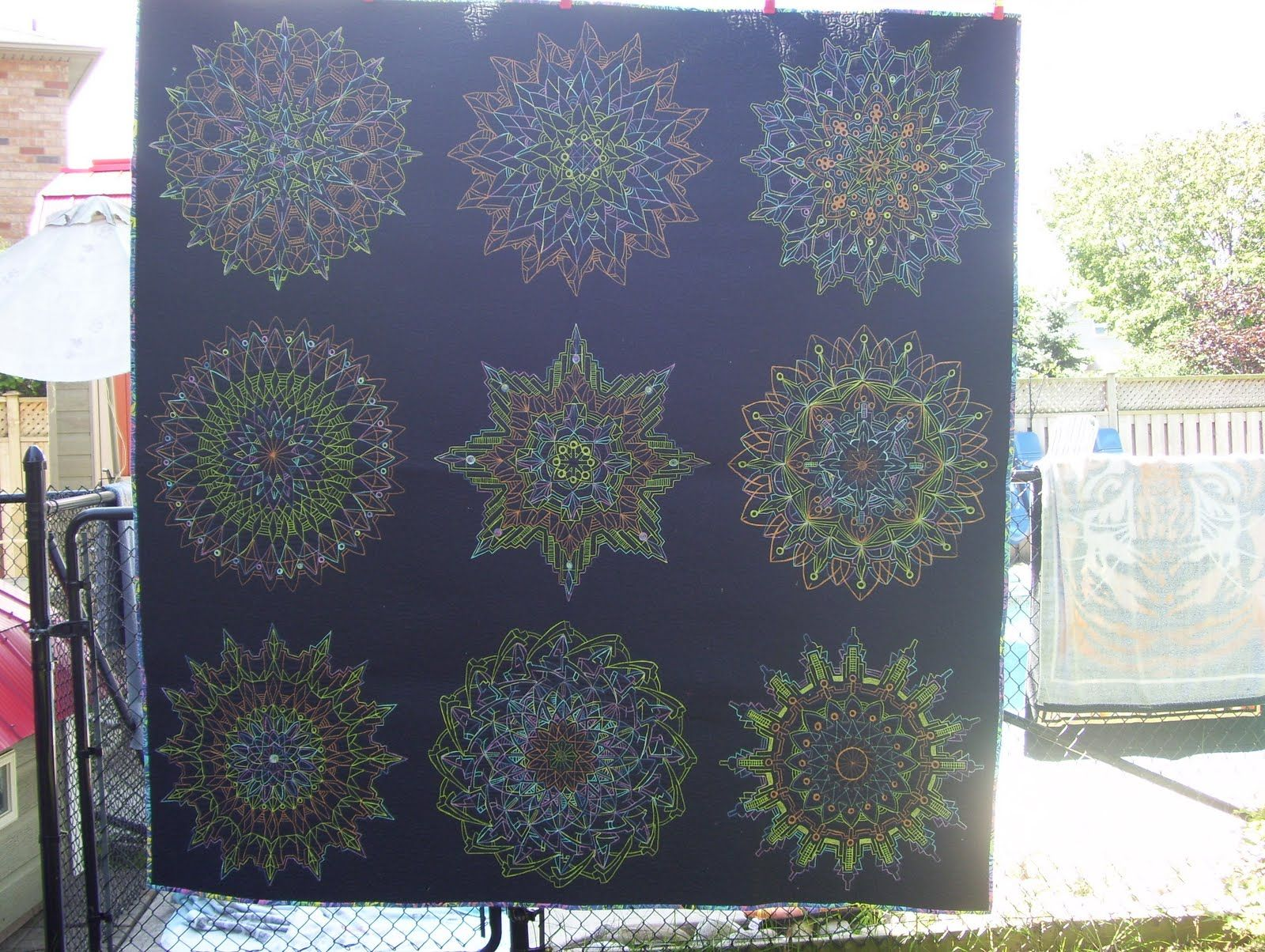 This is another one of my thread art quilts done on a longarm ... : longarm quilting gadgets - Adamdwight.com