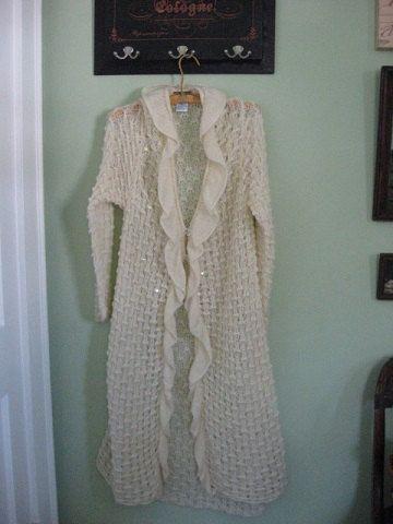 Designer April Cornell Fashion Long Cream by GoodCharmVintage