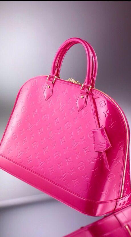 Rosa Louis Vuitton Handtasche   - New York Fashion - #Fashion #Handtasche #louis #rosa #vuitton #York #louisvuittonhandbags