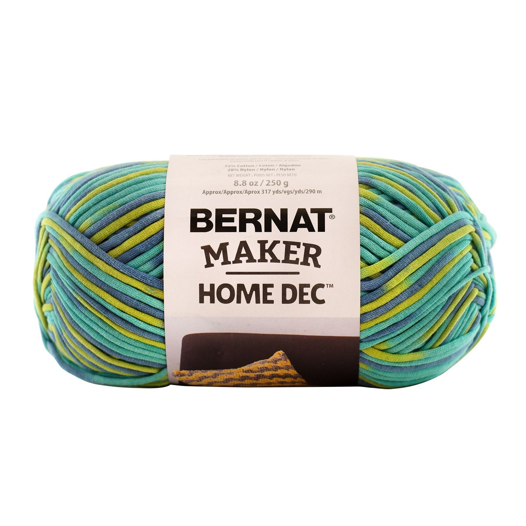 Bernat Maker Home Dec Yarn in Pacifica Variegate | Products by Kay\'s ...