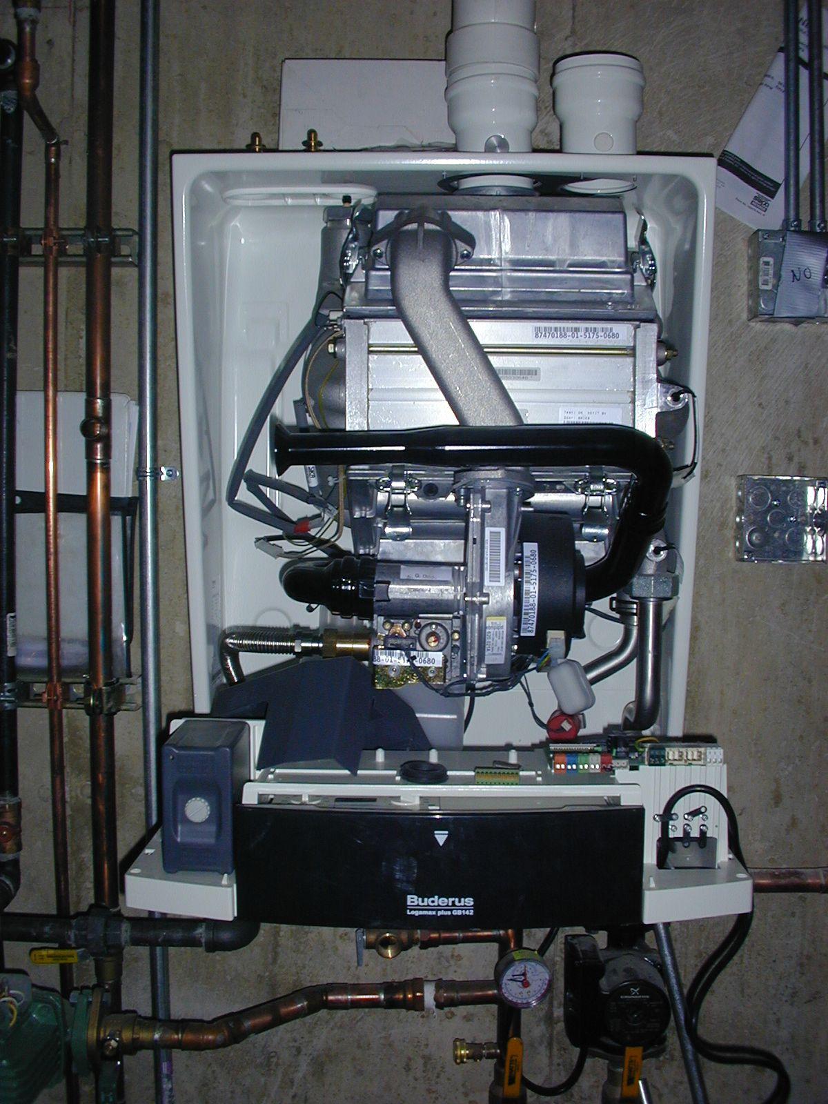 Buderus High efficient wall mount boiler