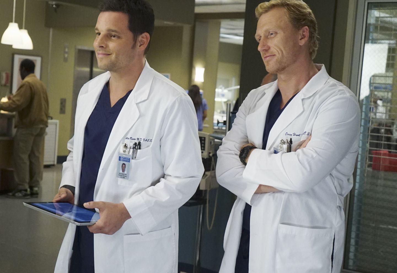 Grey\'s Anatomy Season 12 Photos   Season 12, Justin chambers and ...