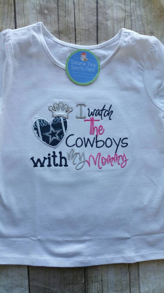 a667cc451 Dallas Cowboys Inspired Girl Shirt