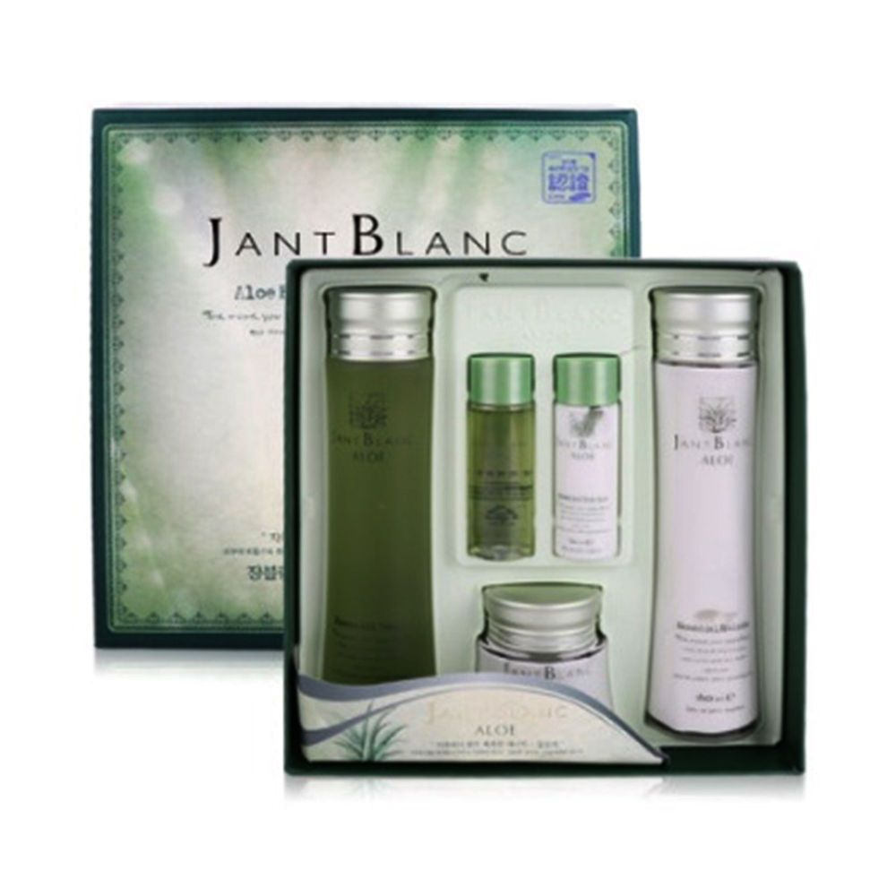 Jant Blanc Aloe Essential Skin Care 3set Skin Care Essentials Skin Care Aloe