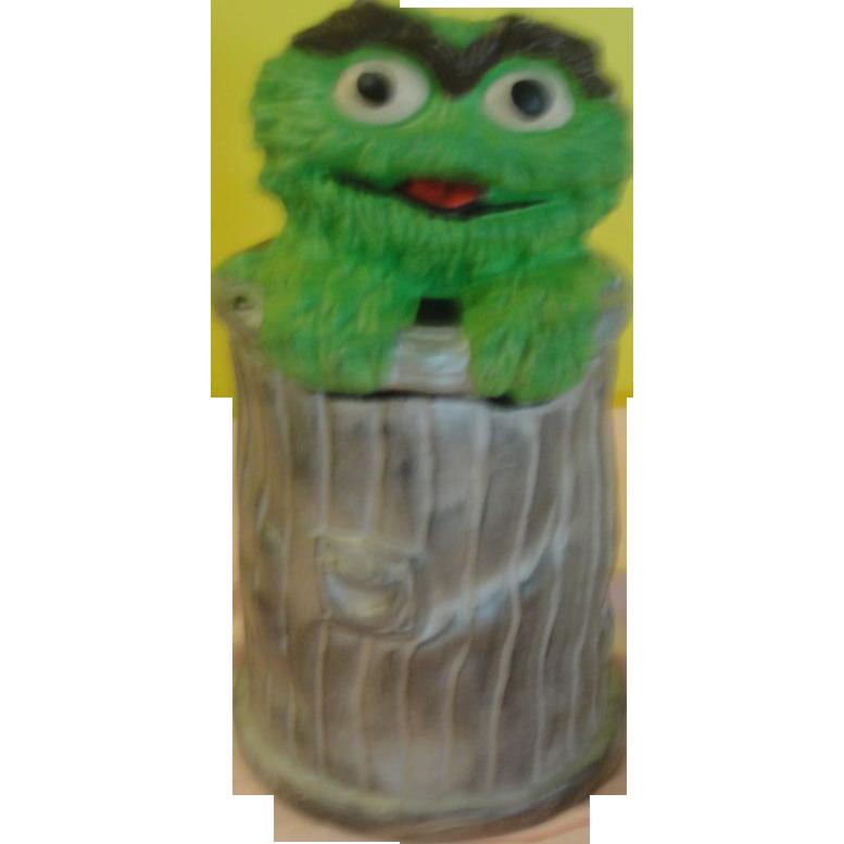 California Original Oscar the Grouch Muppets 972 Cookie Jar