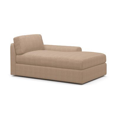 "BenchMade Modern Couch Potato Chaise Lounge Size 30"" H x 40"" W x"