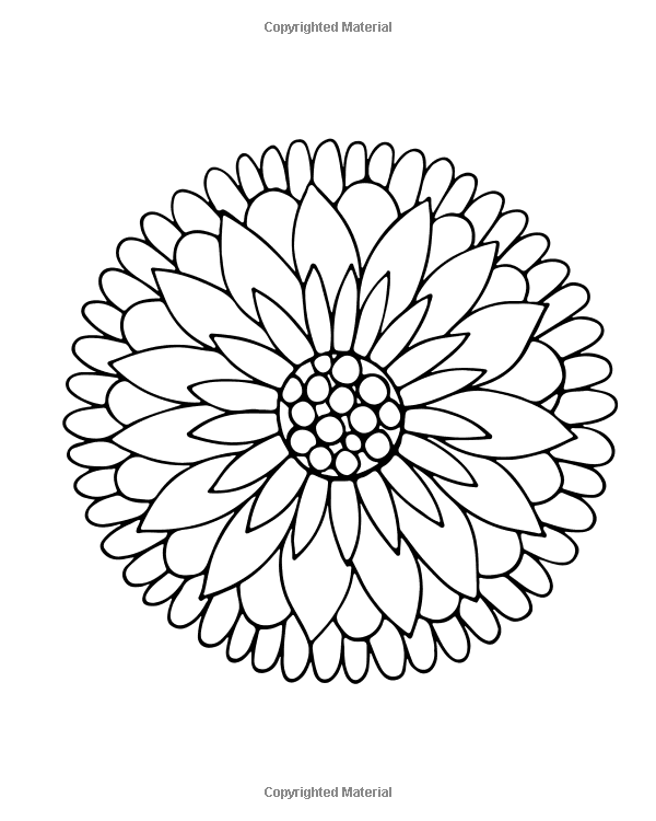 Amazon.com: Easy Flowers Coloring Book: 60 Very Simple Flowers And Basic  Doodle Style Floral Designs In Large Print … Simple Flowers, Coloring  Books, Large Prints