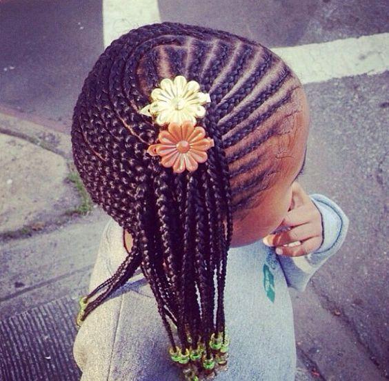 Des coiffures & des petites filles Coiffure petite fille