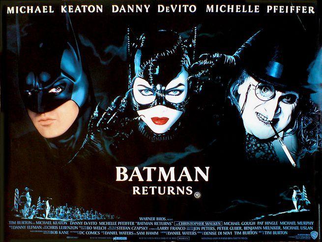 Batman - O Retorno (Batman Returns-1992)  Tim Burton tentando mostrar que podia fazer uma boa sequncia para um estoura quarteiro, ao seu modo. , no foi dessa vez que ele conseguiu.