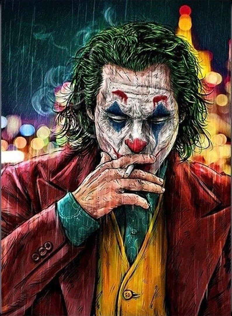 The JOKER Canvas Printing Wall Art Paintings Home Decoration Perfect Gift
