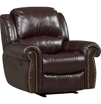 havertys distressed leather nailhead large sofa   Havertys - Prestige Power Recliner   Sit   Power recliners ...