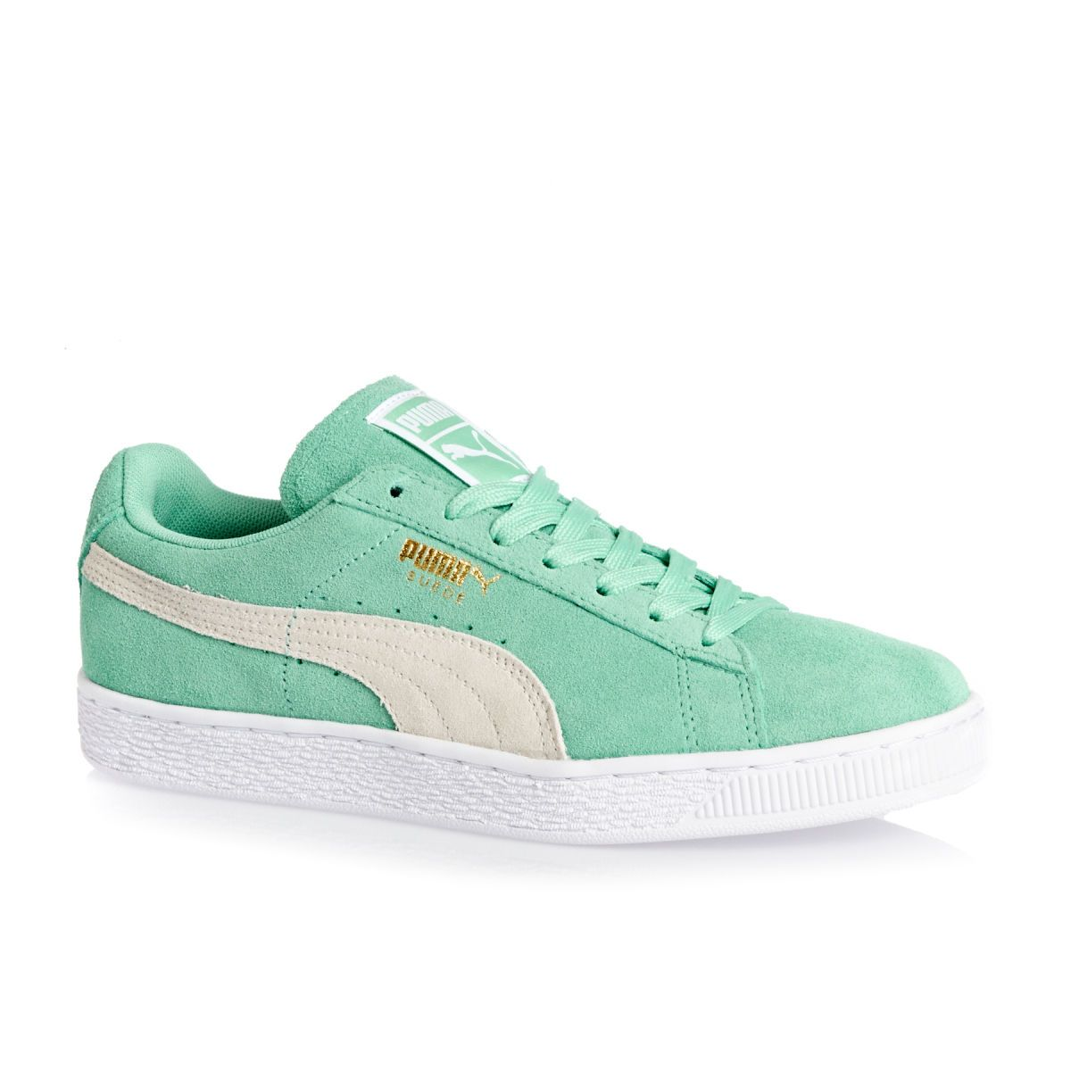 Puma Shoes - Puma Suede Classic Shoes - Holiday-white