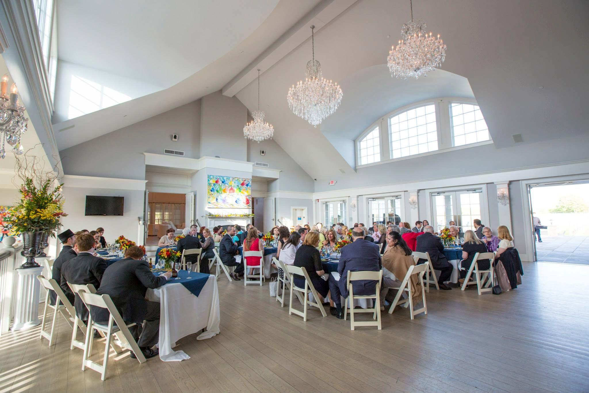 Indoor Wedding Sparkling Pointe Vineyards North Fork Of Long Island