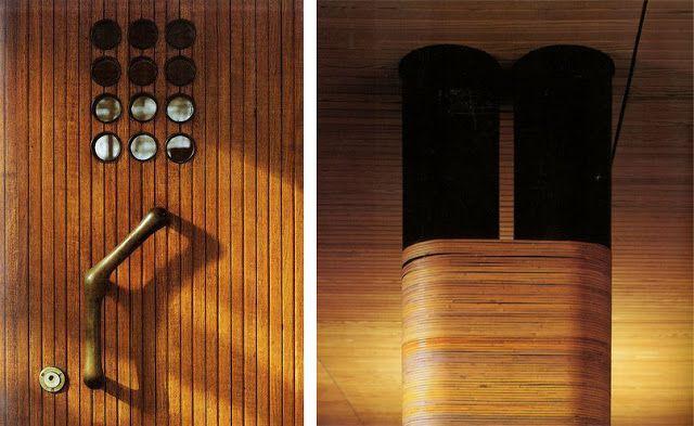 La madera es un material que está muy presente en la obra de Alvar Aalto  y un ejemplo de ello es la Villa Mairea, esta vivienda construi...