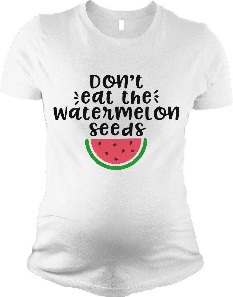 8245b74f3c2ec Don't Eat the Watermelon Seeds Pregnant SVG DXF EPS PNG Cut File • Cricut •  Silhouette