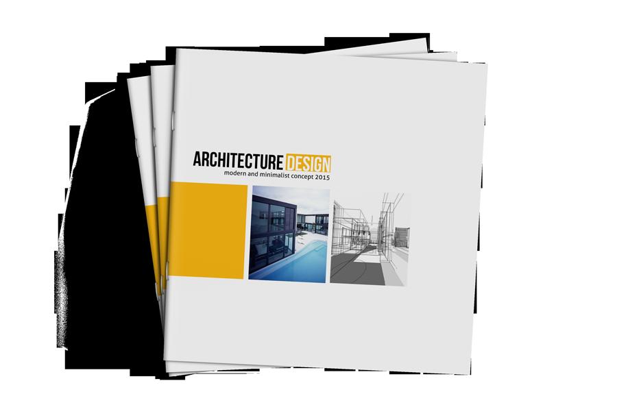 Square Brochure Architecture Template Httpgraphicriveritem