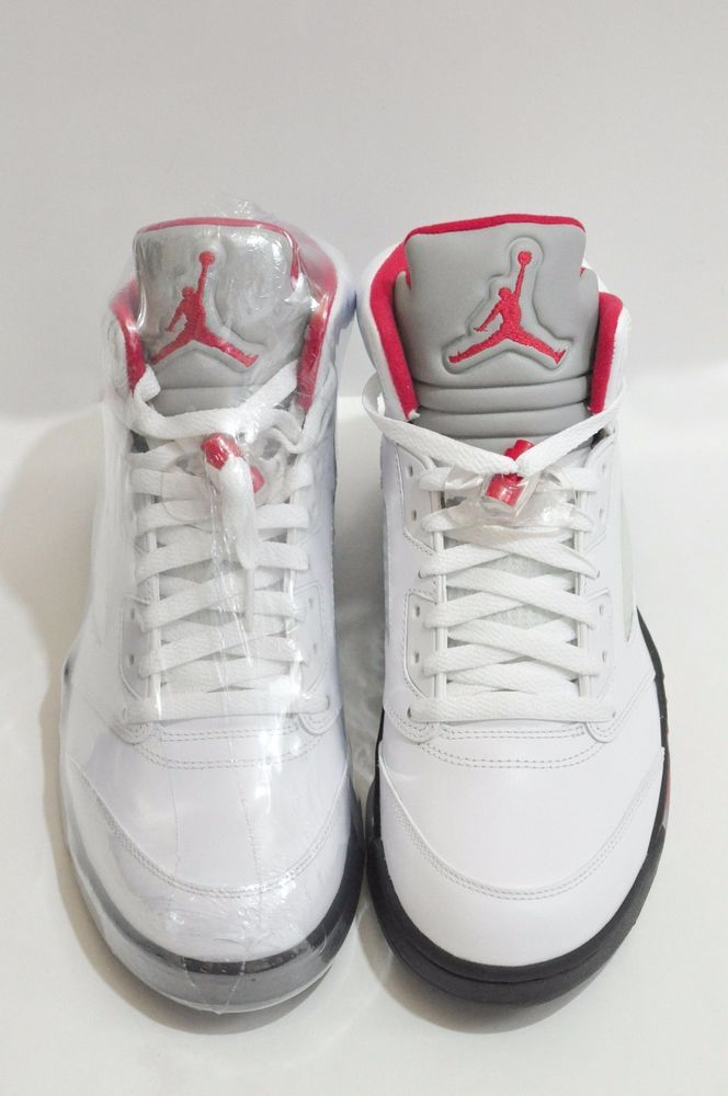 Air Jordan Retro 5 Fire Red Mens Size 9 Deadstock with Box  AirJordan   AthleticSneakers 9d87c930a