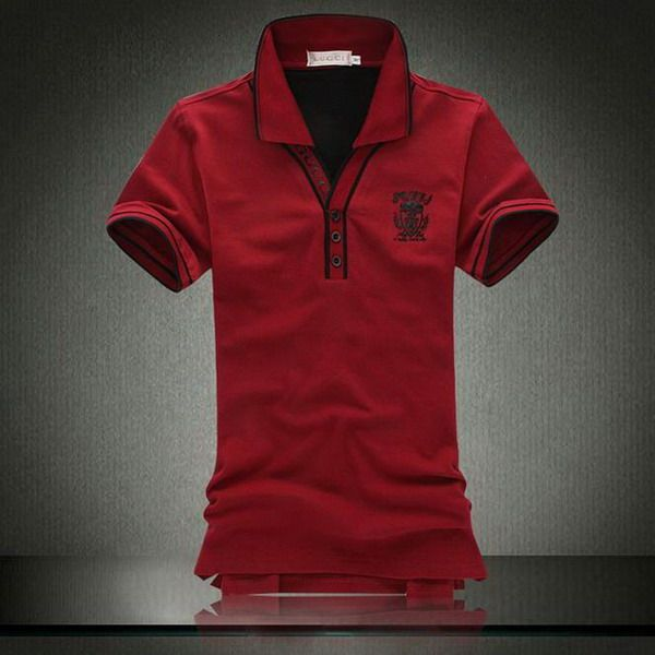 Polo ralph lauren cheap gucci logo collar v neck short for Cheap polo collar shirts