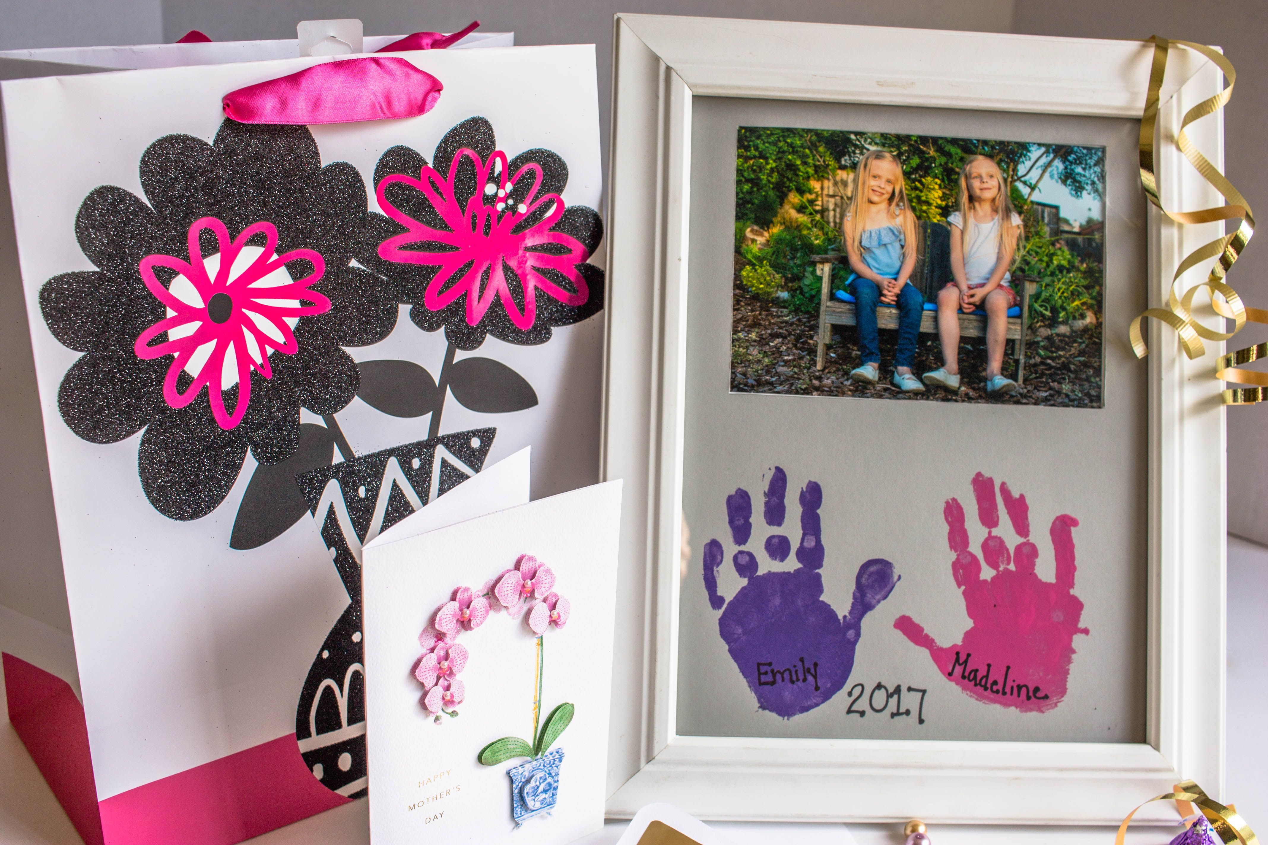 Diy Mother S Day Gift Picture Frame Crafts Diy Mother S Day