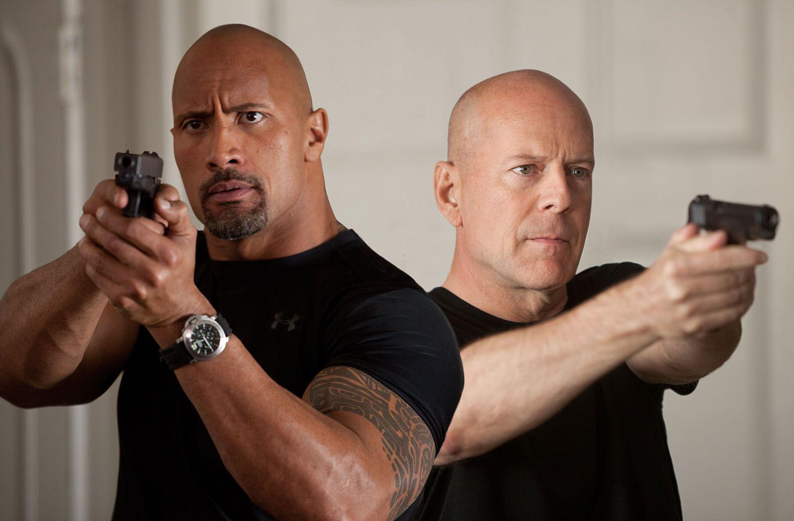G I Joe 2 Die Abrechnung Bild Bruce Willis Dwayne Johnson