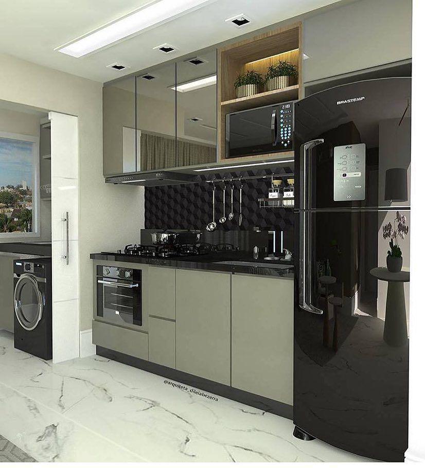Moderne küchen für kleine räume  Pin von Zaree auf ครัว | Pinterest