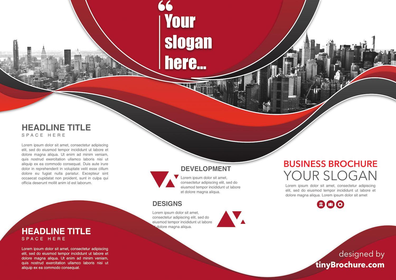 TriFold Brochure Template Google Docs inside Brochure